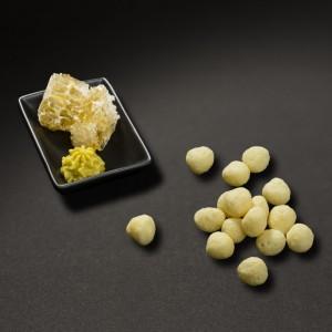 Wasabi és méz ízesítésű golyók, Toman Snack