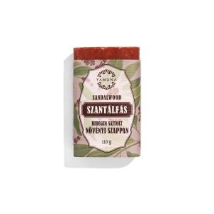 Szantálfás hidegen sajtolt szappan 110g