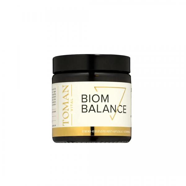 Biom Balance étrend-kiegészítő rost kapszula C-vitaminnal