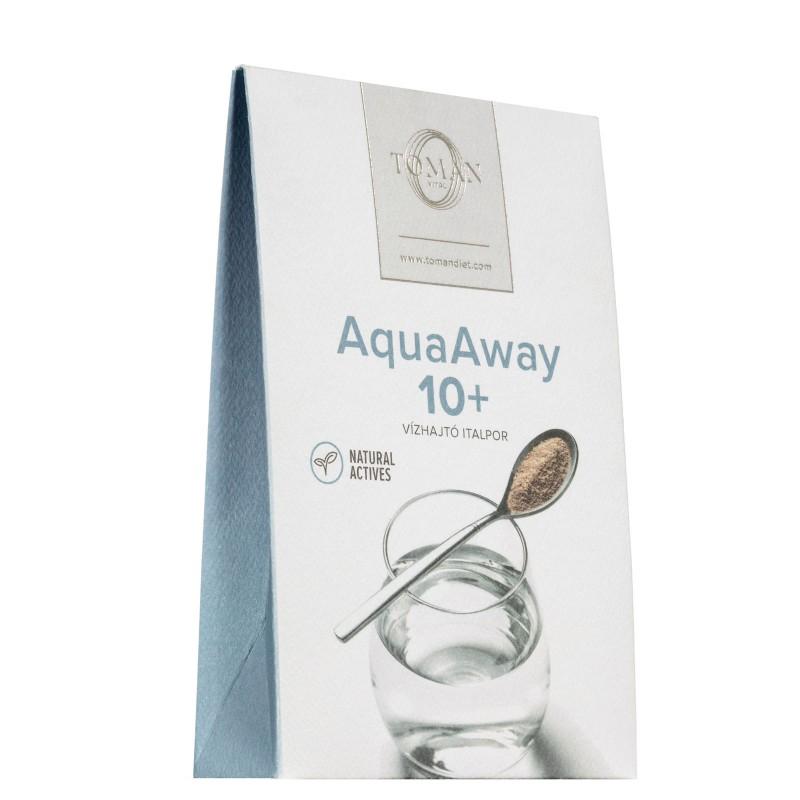 Aqua Away Vízhajtó Italpor, Toman Vital