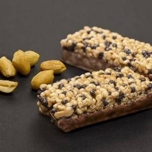 Földimogyorós csokoládés müzliszelet, Toman Snack