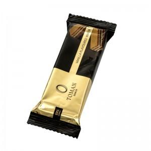 Csokoládé és mogyoró ízű töltelékkel töltött nápolyi, Toman Snack