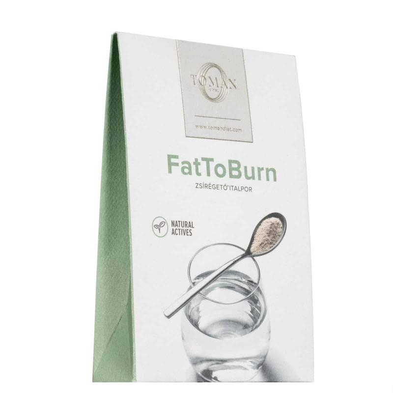 Fat To Burn Zsírégető Italpor, Toman Vital